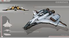 Ship design for Everspace by Rockfish Games.