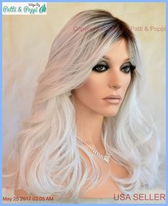 Hairdo Wavy Wig Heat Safe Whiteout Rooted Darling Sexy Hot USA Seller 2031 #HAIRDO #FullWig