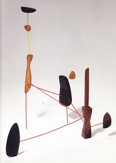vjeranski:    Alexander Calder, Constellation with Red Knife