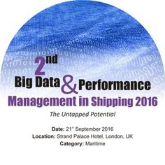Grab your #tickets!! There are only 2 days left of Standard #Registration for 2nd Big Data and Performance Management in Shipping 2016 in London. Standard Registration now live £950+VAT (3 for the price of 2 - Book 2 delegates and get the third pass complementary) Book at http://www.recunnect.com/events/maritime-events/2nd-big-data-in-shipping-2016/registration/now to save £50 with voucher code SAR001.