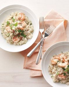 Shrimp-and-Herb Risotto Recipe