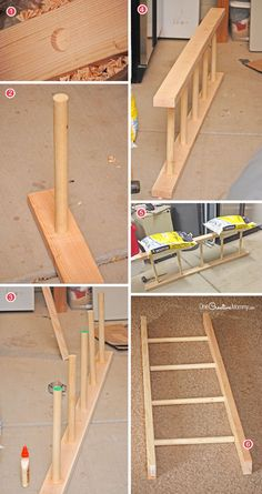 Make this easy ladder laundry drying rack! You won't believe how easy it is to make this hanging ladder laundry drying rack. Check out the simple tutorial with pictures and step-by-step instructions.
