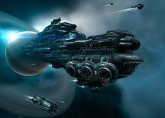 spaceships   What's Your Anti-Warcraft?   Blogtown, PDX