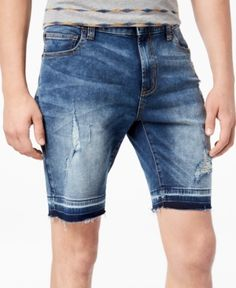 d0ccdb028 American Rag Men's Distressed Denim Shorts, Created for Macy's & Reviews -  Shorts - Men - Macy's