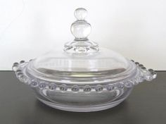 Candlewick candy dish $28