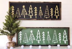 Misfit Christmas Trees - Timber + Gray Design Co. Christmas Signs Wood, Christmas Art, Christmas Projects, All Things Christmas, Winter Christmas, Hygge Christmas, Christmas Vacation, Christmas Ideas, Holiday Crafts