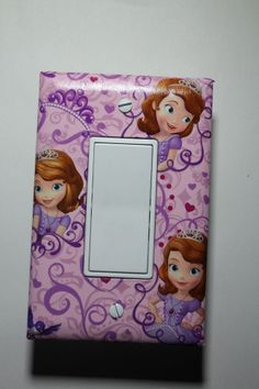 Sofia the First decora rocker style Light Switch Cover girls room decor sophia