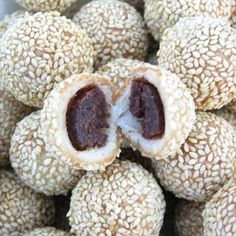 Best sesame ball recipe and instructions!  I love these! Can't wait to try