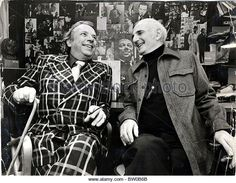 George Melly with Ronnie Scott.