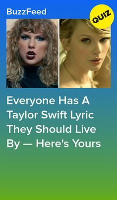 Everyone Has A Taylor Swift Lyric They Should Live By — Here's Yours Taylor Swift Quiz, Taylor Swoft, Taylor Swift Funny, Taylor Swift Videos, Taylor Swift Quotes, Taylor Swift Songs, Taylor Swift Pictures, Taylor Swift Lyrics Fearless, Young Taylor Swift