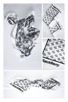 #Mascada ( #Scarf ) tela charmeuse de 60x60 cm sublimada con tu #logotipo   ventas@corbatasmexico.com.mx   55779220