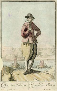 Boer uit Vlieland, Pieter Pickaert, in or before 1689 - 1713