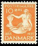 Danish stamp,,yes very old one ...like