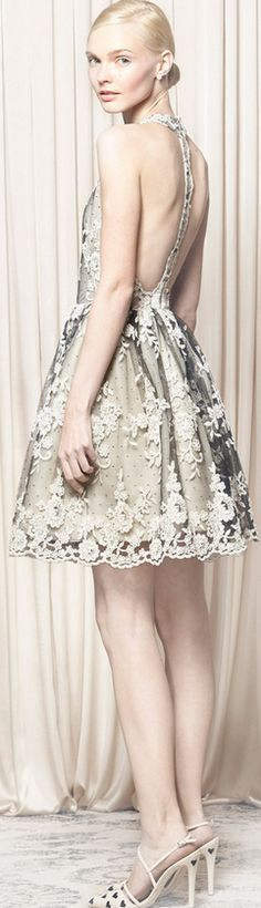 #Alice + #Olivia #Spring #2014 #fashion #glamour #haute #couture #elegant #luxe #glamour #défilé #SS #FALL