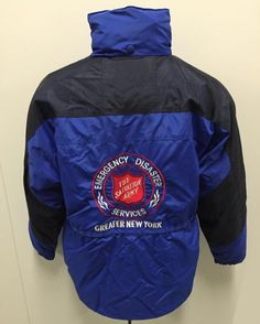 A Salvation Army jacket is now in our collection. Check out the blog for the moving story of the woman who wore it.