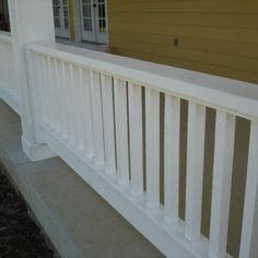 Love these classic Porch Railings