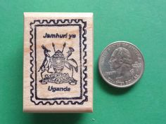 Country and Continent Passport Stamp Frame Rubber Stamps, wood mtd., your choice    eBay