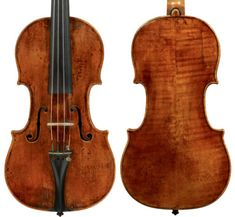 Violin by Vicente Assensio dated 1779 no.12. Photos: Jan Roehrmann