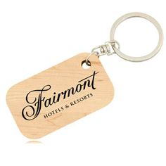 Eco Friendly Bamboo Keychain with rounded key ring and usage of holding keys.  More Info: http://avonpromo.com/friendly-bamboo-keychain-p-6745.html