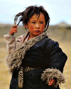 Jongen - Tibet / Children of the World Precious Children, Beautiful Children, Beautiful People, Image Pinterest, Portraits, Ansel Adams, Interesting Faces, Photos Du, People Around The World