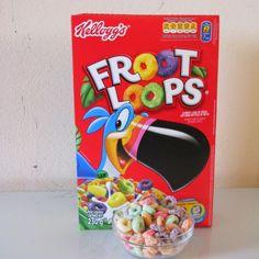 Cantinho Infantil da Bia: Cereal Matinal Froot Loops KELLOGGS - Tudo do mesm...