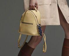 Backpack Purse, Fashion Backpack, Best Bags, Luxury Handbags, Bag Accessories, Fendi, Michael Kors, Fall 2015, Yellow Bags