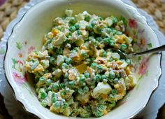 The Original Frontier Inn Salad...a delicious sounding pea salad filled with flavor!!