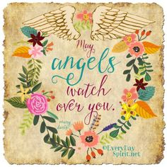 You are always guarded and guided ~ #angels For app info ~ www.everydayspirit.net