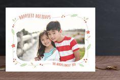 Festive Frame Christmas Photo Cards by Melanie Severin at minted.com