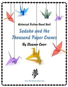 sudoku and the thousand paper cranes Come back to me again, sadako a letter from sadako's mother, fujiko i remember reading sadako and the thousand paper cranes when i was a little girl and.