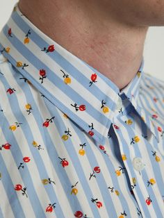 Patterned CDG shirt - wonder if Rob would wear this when he gets home?!?
