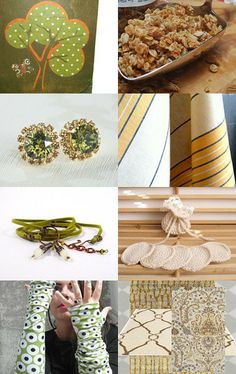 Earth Tones Beckon - Spring is here! by Jenny LK Doughty on Etsy--Pinned with TreasuryPin.com