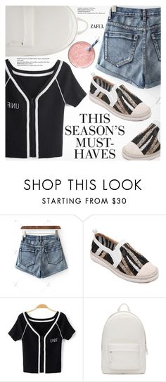 """""""Street Style"""" by pokadoll ❤ liked on Polyvore featuring PB 0110, H&M, polyvoreeditorial, polyvorefashion, polyvoreset and zaful"""