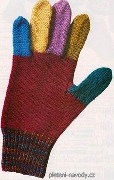 Prstové rukavice 4 velikostí – PLETENÍ – NÁVODY Gloves, Wool, Winter, Winter Time, Winter Fashion