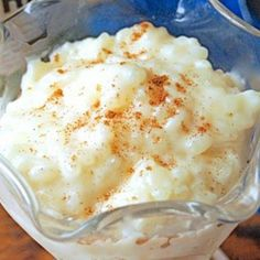 This Slow Cooker Rice Pudding recipe is for a 4.5l slow cooker and serves eight, it can be easily halved if you have a smaller one!