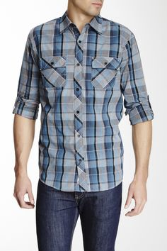 Micros   Komptu Plaid Shirt   Nordstrom Rack ($14.97) Nordstrom Rack, November Pictures, Casual Shirts, Button Down Shirt, Men Casual, Plaid, Mens Tops, Fashion, Gingham