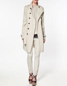 trench coat - zara