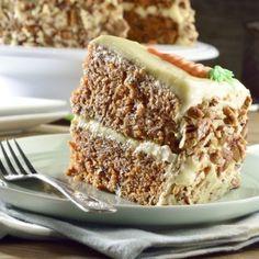 Pastel de Zanahoria con Betún de Queso Crema Your Recipe, Recipe Box, Kitchen Recipes, Cooking Recipes, Rigatoni, Cheesesteak, Healthy Desserts, Tiramisu, Banana Bread