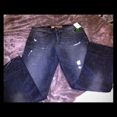 BNWT SZ.38 LRG Distressed look pants Brand new with tags awesome LRG distressed on some areas of pant on purpose to give it that look. Sizing upon request. SZ.38 LRG jeans. LRG Jeans