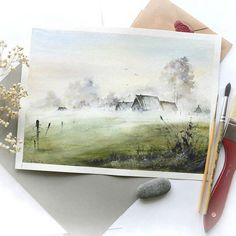 Watercolorist: @kustova_anastasia #waterblog #акварель #aquarelle #painting #drawing #art #artist #artwork #painting #illustration #watercolor #aquarela
