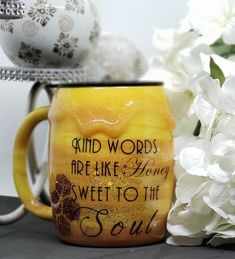 stainless steel coffee mug with honey drip Stainless Steel Coffee Mugs, Drip Coffee, Kind Words, Drinkware, Event Planning, How To Memorize Things, Honey, Container, 3d