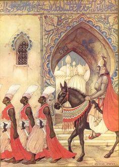 The Arabian Nights by Anton Pieck