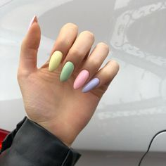 Semi-permanent varnish, false nails, patches: which manicure to choose? - My Nails Summer Acrylic Nails, Best Acrylic Nails, Pastel Nails, Acrylic Nail Designs, Summer Nails, Minx Nails, Aycrlic Nails, Cute Nails, Stylish Nails