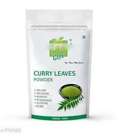 Hair Care Curry-Leaf Powder 100 gms Product Name: Curry-Leaf Powder 100 gms Brand Name: Indirang Multipack: 1 Country of Origin: India Sizes Available: Free Size   Catalog Rating: ★4 (460)  Catalog Name: Indirang Proffesional Intensive Hair Cream & Masks CatalogID_1147888 C50-SC1249 Code: 081-7191920-991