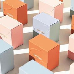 rand Identity Design & Supporting Brand Packaging For «HEY JANE» Collateral Design, Brand Identity Design, Branding Design, Brand Fonts, Packing, Brand Guidelines, Brand Packaging, Packaging Ideas, Packaging Design Inspiration
