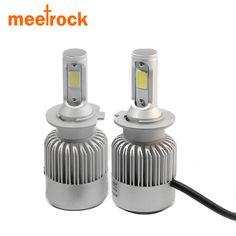 LED Kit N3 60W 9008 H13 6000K White Two Bulbs Head Light Replacement ATV UTV