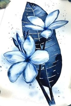 Monochromatic watercolor illustration Nature Illustrations, Watercolor Illustration, Painting, Art, Art Background, Painting Art, Kunst, Paintings, Performing Arts