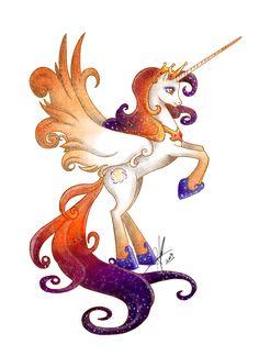 Alicorn Queen by ~LadyAmaltea on deviantART