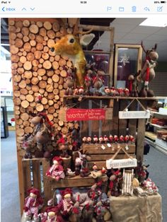 Posh&pans Christmas display Merry, Christmas Tree, Display, Holiday Decor, Home Decor, Teal Christmas Tree, Floor Space, Decoration Home, Billboard