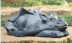 large sleeping dragon mold made and ready to ship. latex n fiberglass